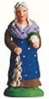 Femme Au Chou Et A L'ail (Woman with Cauliflower & Garlic)