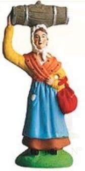 Femme Au Tonnelet (Woman with Barrel)