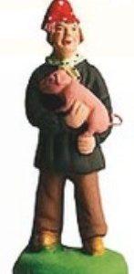 Homme Au Cochon (Man with Pig)