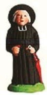 Monsieur Le Curé (Priest) with umbrella or handkerchief