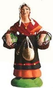 Poissonnière (Woman with Fish)