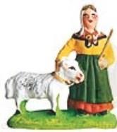 Femme A La Chèvre (Woman with Goat)