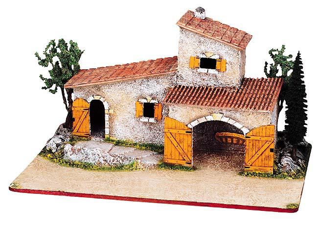 Mas provençal Avec Arbres No. 2