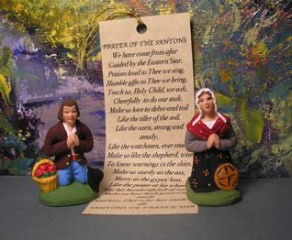 *Prieur & Prieuse Gift Set (Man and Woman Praying)