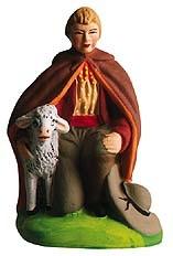 Berger A Genou (Kneeling Shepherd)
