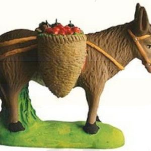 Ane Charge Fruits (Donkey with Baskets of Fruit)