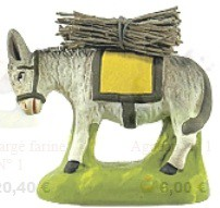 Ane Charge Fagot ( Donkey with Sticks)