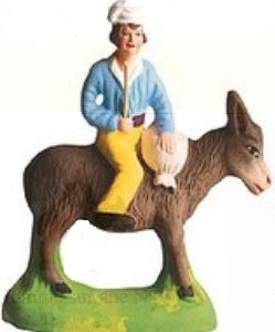 Homme Sur L'Ane (Man on Donkey)