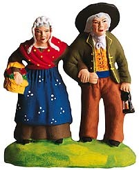 *Couple de View (Old Couple Walking) Gift Set