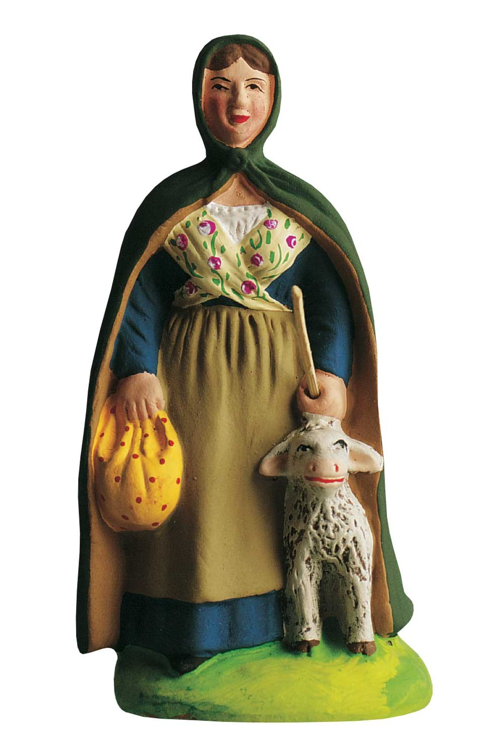 Bergère A La Cape (Shepherdess with Lamb)